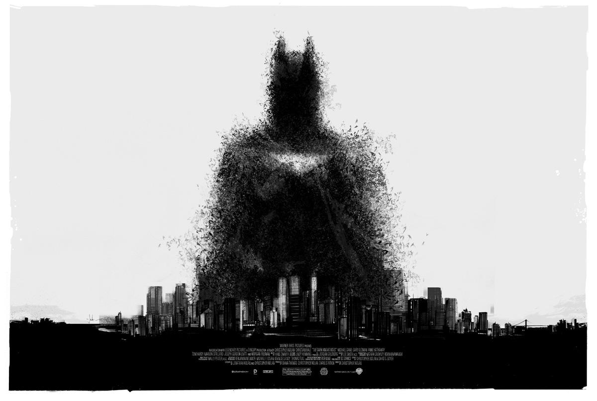 Dark Knight Rises Mondo Wallpaper