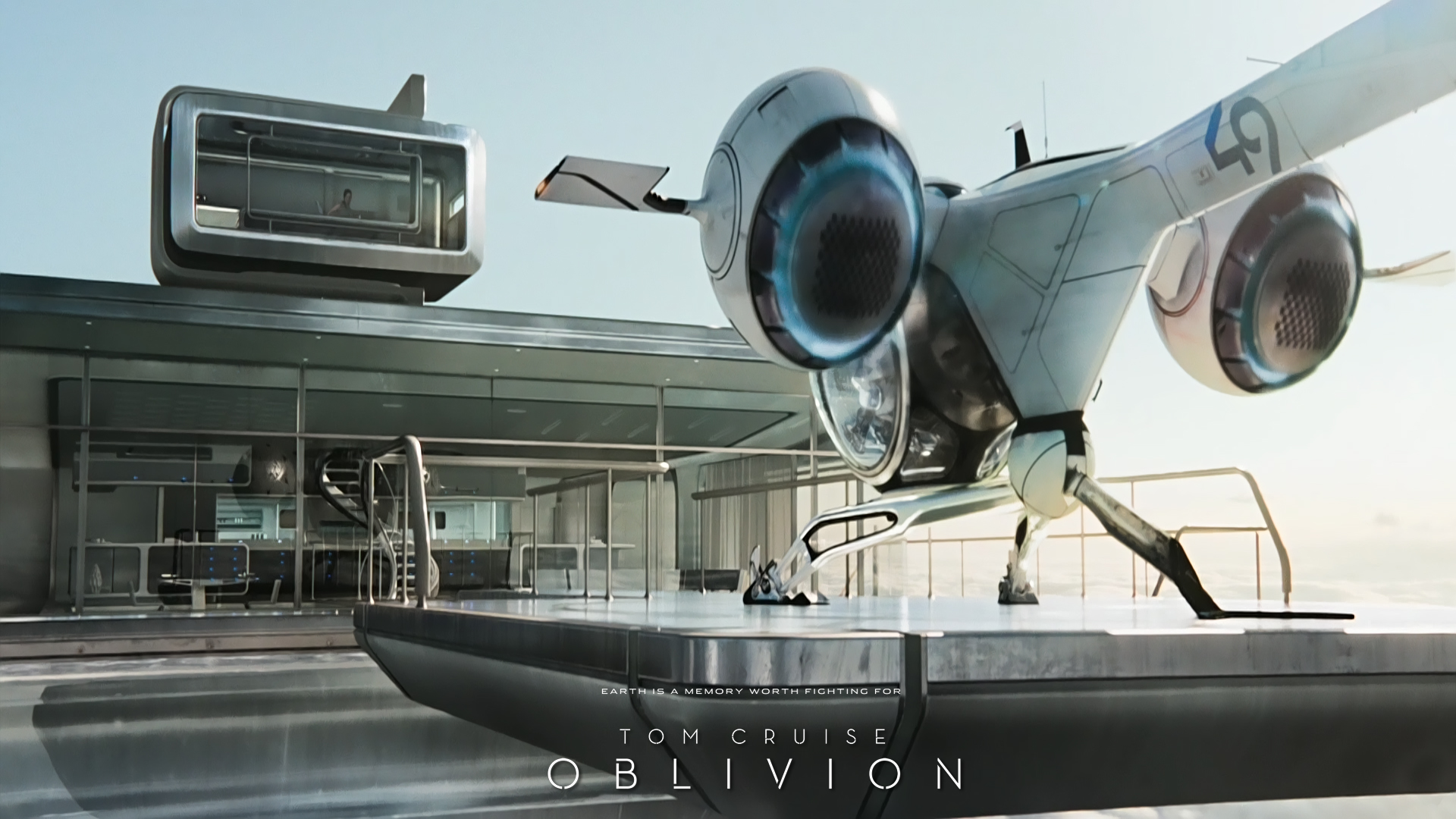 Tom Cruise Oblivion Wallpapers 2