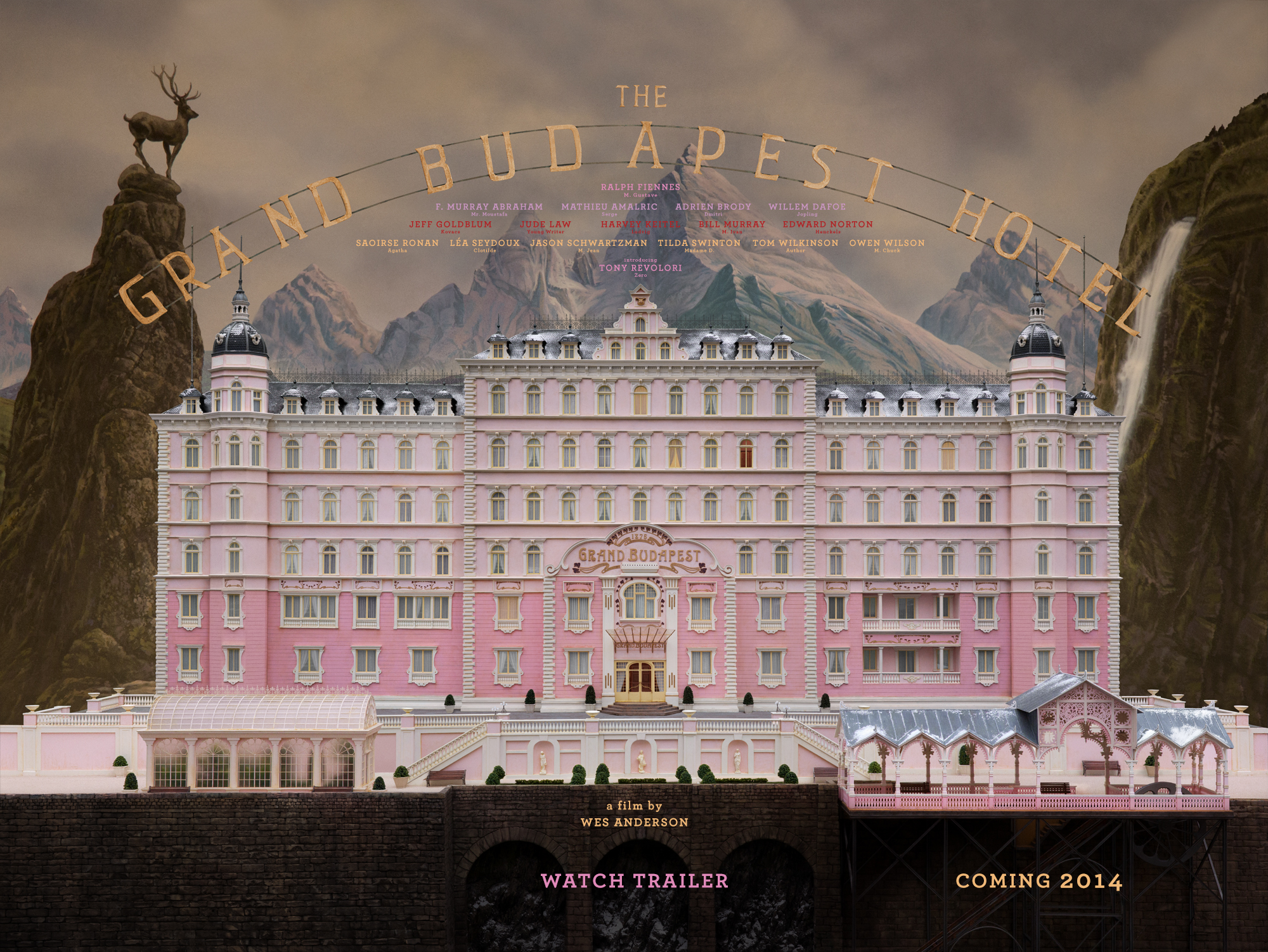 Grand Budapest Hotel Wallpaper: New Trailer: The Grand Budapest Hotel