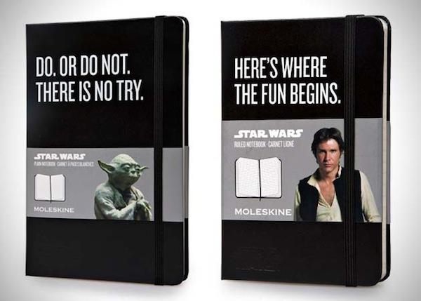 Yoda Han Solo Moleskine