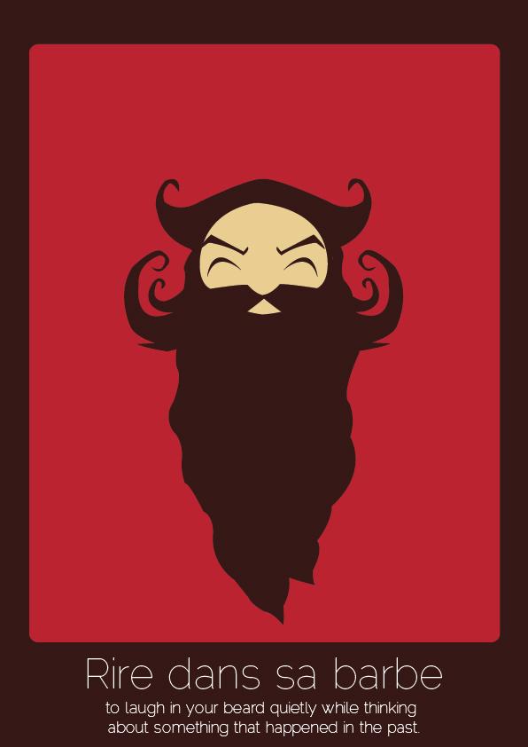 Rire dans sa barbe
