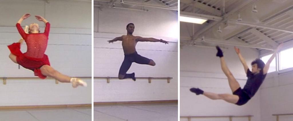 slow mo ballet