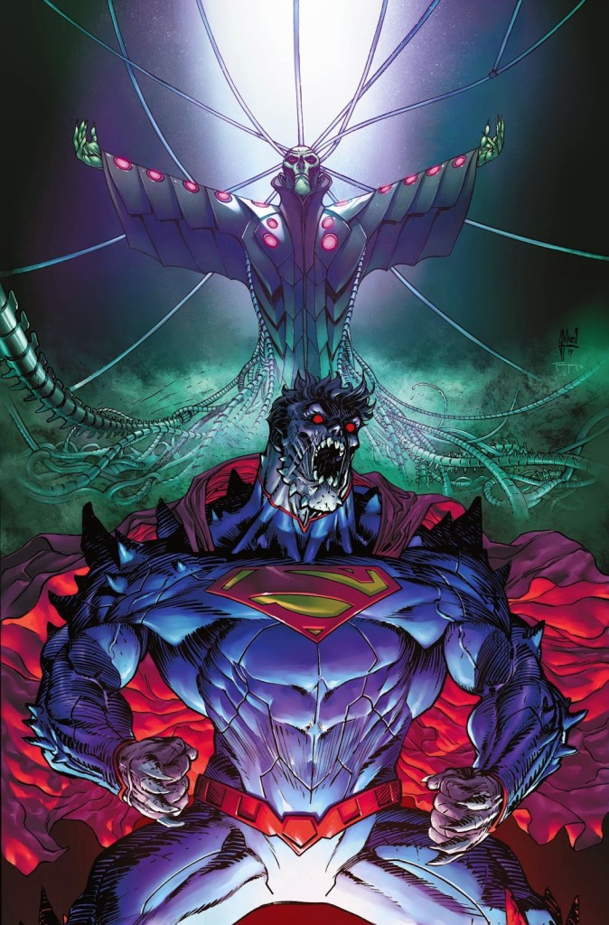 Superman Doomed cover color