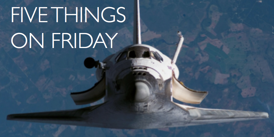 Five things on Friday #88