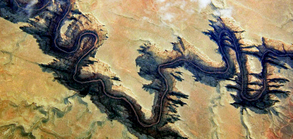 Grand Canyon, from space