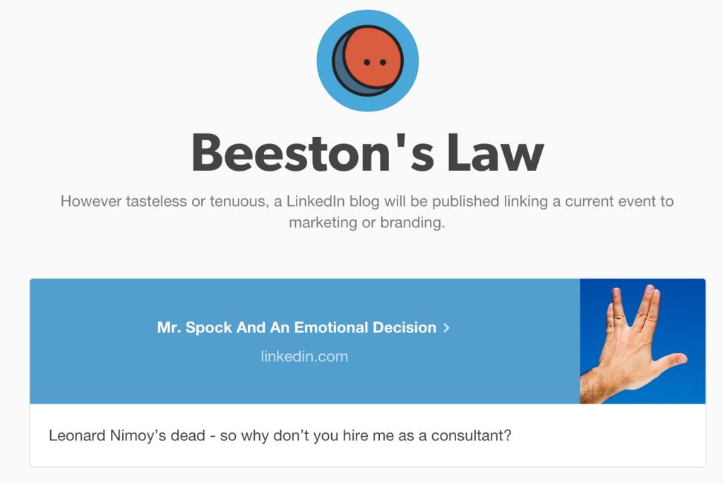 BeestonsLaw